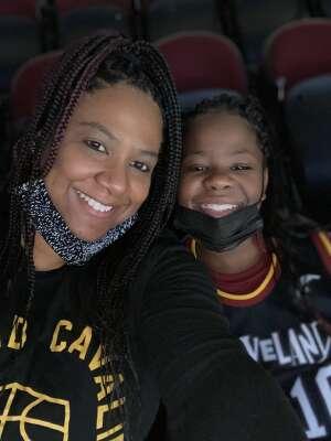 Geniece  attended Cleveland Cavaliers vs. Utah Jazz - NBA on Jan 12th 2021 via VetTix