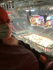 Ken attended Cleveland Cavaliers vs. Utah Jazz - NBA on Jan 12th 2021 via VetTix