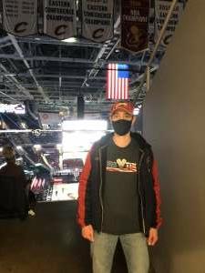Anthony Cardona attended Cleveland Cavaliers vs. Utah Jazz - NBA on Jan 12th 2021 via VetTix