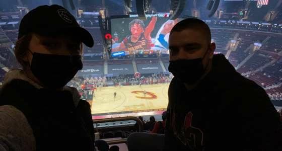 Luke attended Cleveland Cavaliers vs. Utah Jazz - NBA on Jan 12th 2021 via VetTix