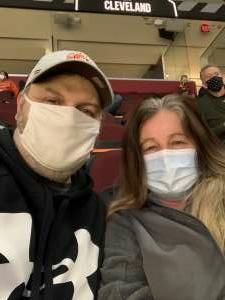 Danny Conley attended Cleveland Cavaliers vs. Utah Jazz - NBA on Jan 12th 2021 via VetTix