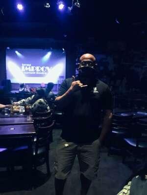Carlos attended Tempe Improv on Jan 17th 2021 via VetTix