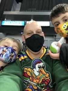 Rob attended Jacksonville Icemen vs. Orlando Solar Bears - ECHL on Jan 15th 2021 via VetTix