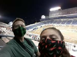 Greg Rose attended Monster Energy Supercross on Feb 13th 2021 via VetTix
