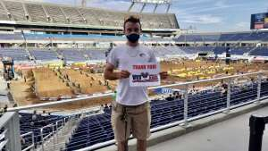 Krisztina R attended Monster Energy Supercross on Feb 13th 2021 via VetTix