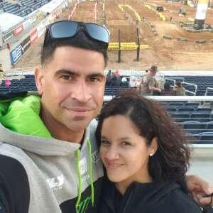 Vetting! attended Monster Energy Supercross on Feb 20th 2021 via VetTix