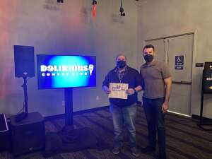 Leo attended Delirious Comedy Club on Jan 15th 2021 via VetTix