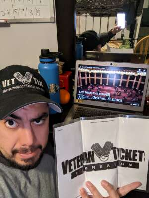 Ed attended Live from the Temple Dance, Rhythm, & Blues - Virtual Event on Jan 21st 2021 via VetTix