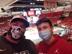 Jason attended University of Oklahoma vs. Iowa State - NCAA - Men's Basketball on Feb 6th 2021 via VetTix