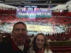 Coach attended University of Oklahoma vs. Iowa State - NCAA - Men's Basketball on Feb 6th 2021 via VetTix
