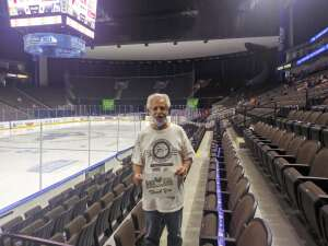 Frank attended ** Rescheduled ** Jacksonville Icemen vs. Florida Everblades - ECHL (sun) on Feb 28th 2021 via VetTix
