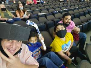 Nicolas B. attended ** Rescheduled ** Jacksonville Icemen vs. Florida Everblades - ECHL (sun) on Feb 28th 2021 via VetTix