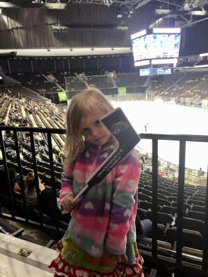 Recker  attended Jacksonville Icemen vs. Florida Everblades - ECHL (sun) on Feb 28th 2021 via VetTix