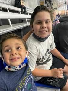 Christy P attended Lone Star Brahmas vs. Amarillo Bulls - NAHL on Apr 9th 2021 via VetTix