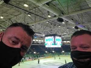 Neil Davies attended Florida Everblades vs. Orlando Solar Bears - ECHL on Jan 27th 2021 via VetTix