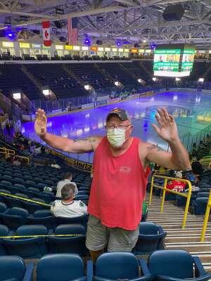 Tg attended Florida Everblades vs. Orlando Solar Bears - ECHL on Jan 27th 2021 via VetTix