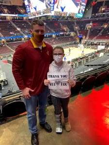 John attended Cleveland Cavaliers vs. Detroit Pistons - NBA on Jan 27th 2021 via VetTix