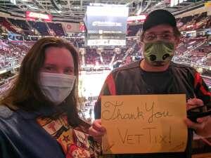 James attended Cleveland Cavaliers vs. Detroit Pistons - NBA on Jan 27th 2021 via VetTix