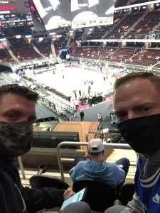 Dustin Rose attended Cleveland Cavaliers vs. Detroit Pistons - NBA on Jan 27th 2021 via VetTix