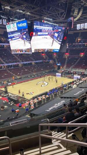Chris Gibson attended Cleveland Cavaliers vs. Detroit Pistons - NBA on Jan 27th 2021 via VetTix