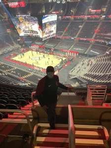Arthur Givens attended Cleveland Cavaliers vs. Detroit Pistons - NBA on Jan 27th 2021 via VetTix