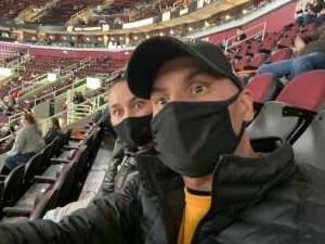 Rosalio Sanchez attended Cleveland Cavaliers vs. Detroit Pistons - NBA on Jan 27th 2021 via VetTix