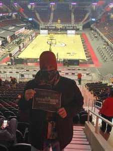 Nathan Humes attended Cleveland Cavaliers vs. Detroit Pistons - NBA on Jan 27th 2021 via VetTix