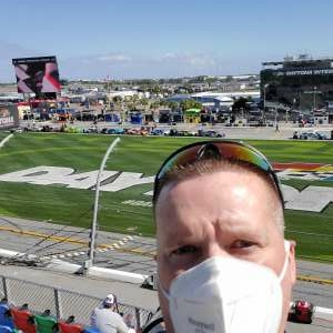 SGT McAttee  attended NASCAR Cup Series - Daytona Road Course on Feb 21st 2021 via VetTix