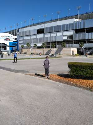 Pat Anderson attended NASCAR Cup Series - Daytona Road Course on Feb 21st 2021 via VetTix