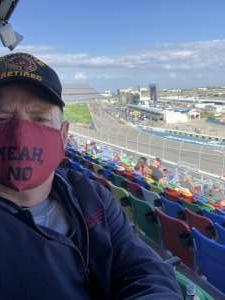 Clint attended NASCAR Cup Series - Daytona Road Course on Feb 21st 2021 via VetTix