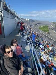 Hobie attended NASCAR Cup Series - Daytona Road Course on Feb 21st 2021 via VetTix