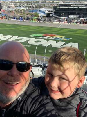 Jeremy P attended NASCAR Cup Series - Daytona Road Course on Feb 21st 2021 via VetTix