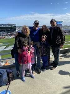 Heidi Bova attended NASCAR Cup Series - Daytona Road Course on Feb 21st 2021 via VetTix