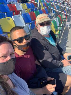 Ron attended NASCAR Cup Series - Daytona Road Course on Feb 21st 2021 via VetTix