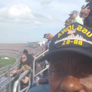 Roland attended NASCAR Cup Series - Daytona Road Course on Feb 21st 2021 via VetTix