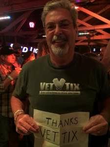 Jim Brander attended Tracy Byrd on Feb 5th 2021 via VetTix