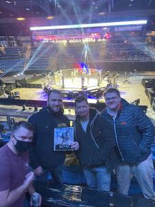 Joey T attended Legacy Fighting Alliance - LFA on Feb 19th 2021 via VetTix