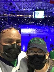 David attended Florida Everblades vs. South Carolina Stingrays - ECHL on Feb 27th 2021 via VetTix