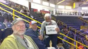 Jim Taube attended Florida Everblades vs. South Carolina Stingrays - ECHL on Feb 27th 2021 via VetTix