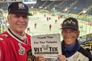Dave attended Florida Everblades vs. South Carolina Stingrays - ECHL on Feb 27th 2021 via VetTix