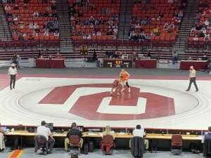 Derrick attended University of Oklahoma vs. Oklahoma State - NCAA - Wrestling on Feb 7th 2021 via VetTix
