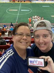 Daub attended Florida Tropics vs. Ontario Fury - Major Arena Soccer League on Feb 21st 2021 via VetTix