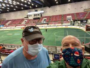 john mandia attended Florida Tropics vs. Ontario Fury - Major Arena Soccer League on Feb 21st 2021 via VetTix