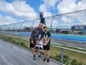 Jon attended Dixie Vodka 400 - KB100 - Kurt Busch Fan Appreciation Tickets - NASCAR on Feb 28th 2021 via VetTix