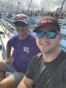 Paul Lauster  attended Dixie Vodka 400 - KB100 - Kurt Busch Fan Appreciation Tickets - NASCAR on Feb 28th 2021 via VetTix
