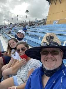 Walls Family  attended Dixie Vodka 400 - KB100 - Kurt Busch Fan Appreciation Tickets - NASCAR on Feb 28th 2021 via VetTix