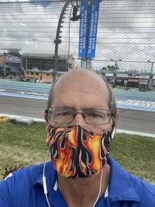 Mark Giuliano attended Dixie Vodka 400 - KB100 - Kurt Busch Fan Appreciation Tickets - NASCAR on Feb 28th 2021 via VetTix