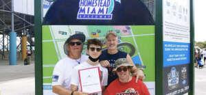 Stewart Family At The Races attended Dixie Vodka 400 - KB100 - Kurt Busch Fan Appreciation Tickets - NASCAR on Feb 28th 2021 via VetTix