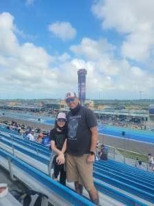 Dan attended Dixie Vodka 400 - KB100 - Kurt Busch Fan Appreciation Tickets - NASCAR on Feb 28th 2021 via VetTix