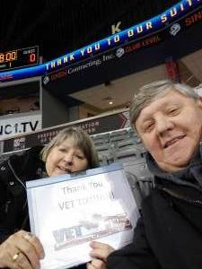 Randy Wolfe attended Rapid City Rush vs. Tulsa Oilers - ECHL on Feb 12th 2021 via VetTix